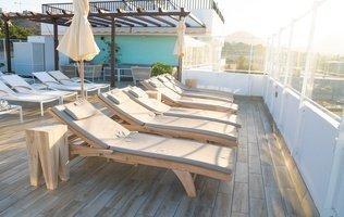 терраса Отель Ocean View
